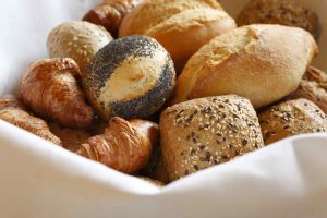 Frühstück-Brötchen