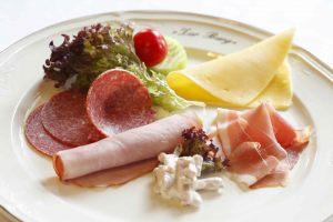 kleine Käse-Wurst Platte